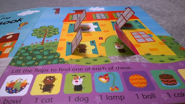 usborne lift the flap book