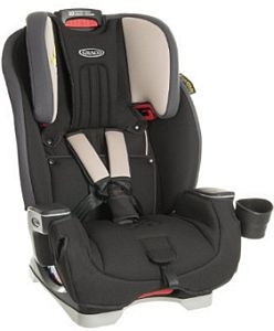 Graco Milestone All-in-One Car Seat - Aluminium